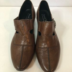 Josef Seibel brown leather shoes size 39 (8-8.5)